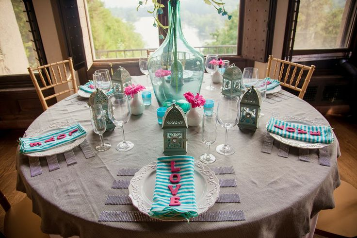 Turquoise Fuchsia Wedding: 94 Best Turquoise & Fuchsia Wedding Inspirations Images On