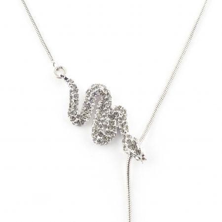 Serpent Sliding Necklace