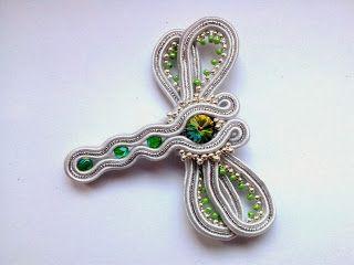 broszka sutasz  Dragonfly