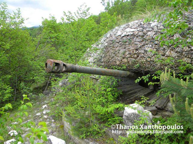 Αθανάσιος Ξανθόπουλος: Εξερευνήσεις στα οχυρωματικά έργα του Β\' Παγκοσμίου Πολέμου