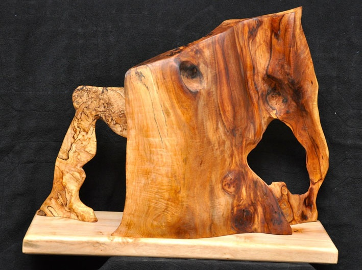Maple Sculpture - other side