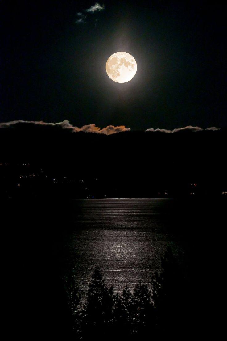 натуральных естественное фото ночной луны мне