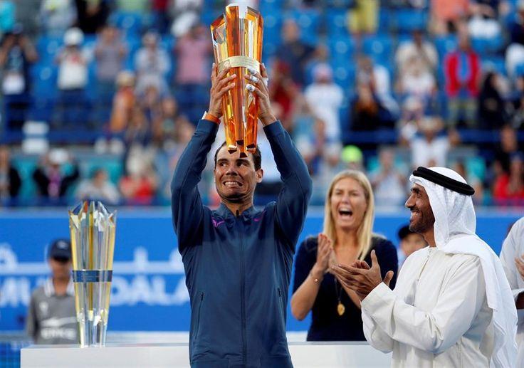 Nadal se da de baja de la exhibición de Abu Dabi      El tenista español Rafa Nadal no participará final en el Mubadala World Tennis Championship de Abu Dabi, torneo de exhibición que se disputa del 28 al 30 de... http://www.europapress.es/deportes/tenis-00166/noticia-nadal-da-baja-exhibicion-abu-dabi-20171223110938.html?utm_campaign=crowdfire&utm_content=crowdfire&utm_medium=social&utm_source=pinterest