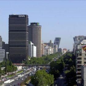 Torre del Banco de Bilbao.  El proyecto es el ganador de un concurso restringido a una serie de profesionales prestigiosos, por parte del Banco de Bilbao, en 1971, p...