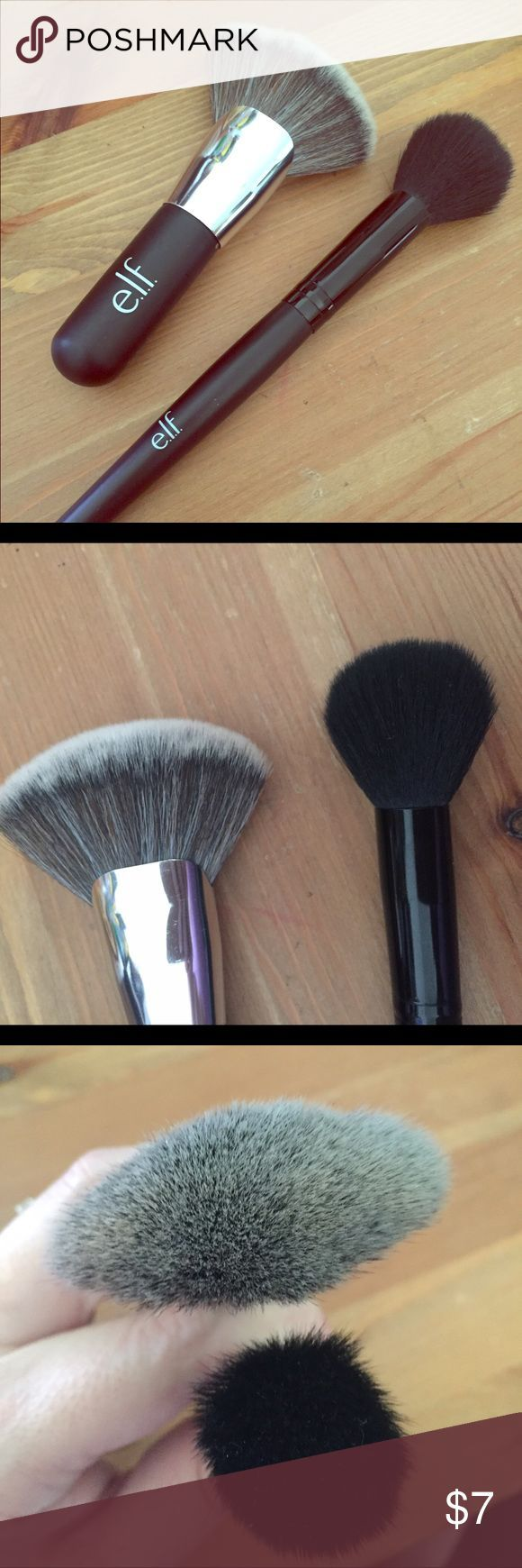 Elf brush set Includes the Beautifully Bare Blending Brush and the Small Tapered Brush. ELF Makeup Brushes & Tools