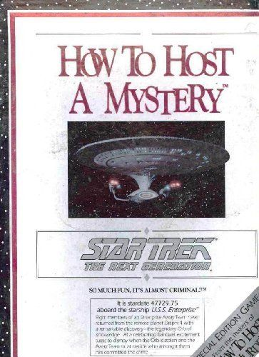 Star Trek the Next Generation How to Host a Mystery by Decipher. $31.95. Item is in stock and ready to ship.