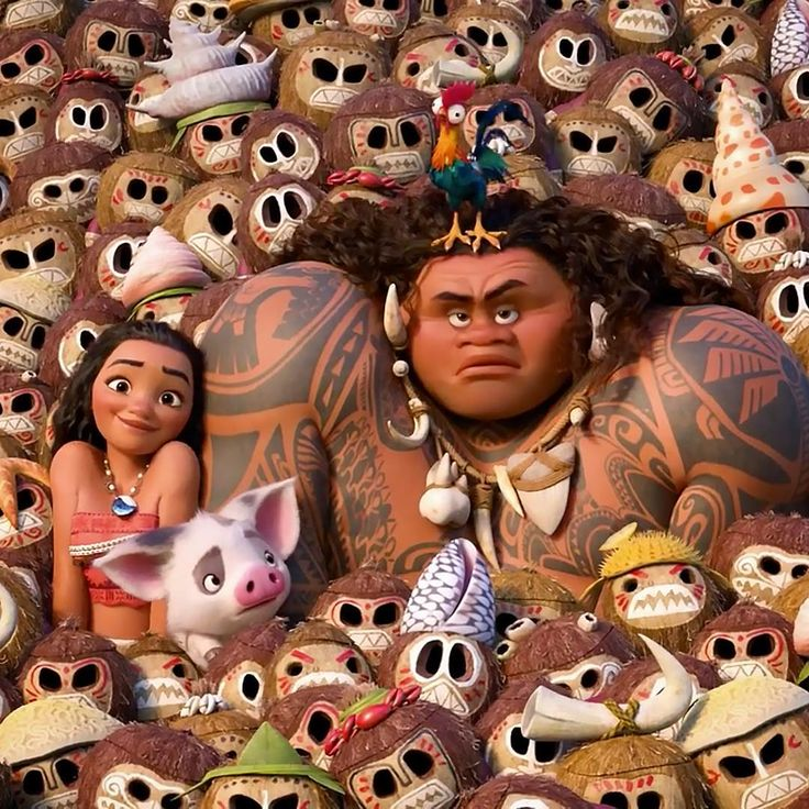 #Moana comes tomorrow in US theaters! Go see it!! It's wonderful
