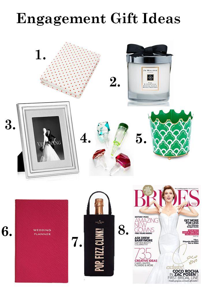 Engagement Gift Ideas | http://mytrueblu.com/engagement-gift-ideas/