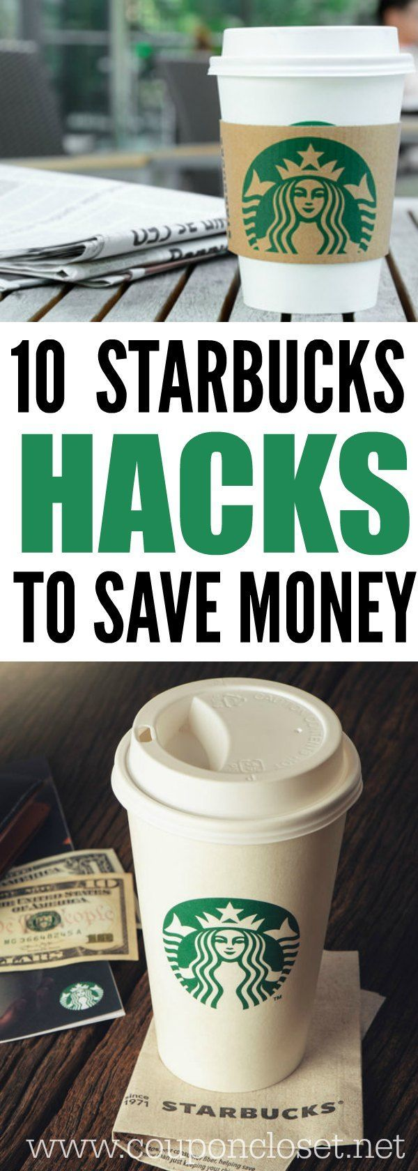 How to save money at starbucks easily. 10 simple and easy ways to save money at starbucks with starbucks rewards and more.