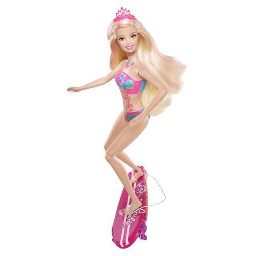 Boneca Barbie Mattel Barbie em Vida de Sereia 2 - Merliah W2883