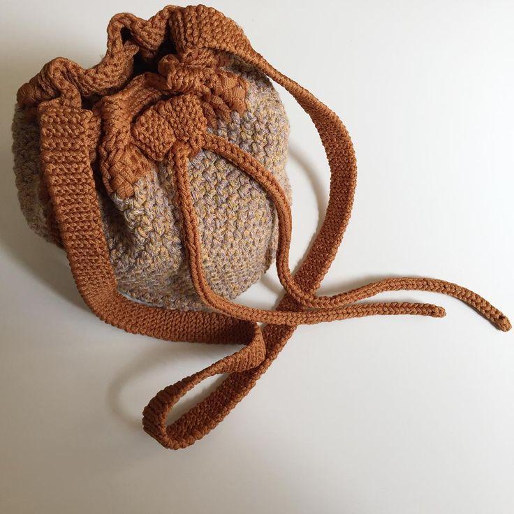 Ginger Mix Shoulder Bag, BCB002, the handmade shoulder bag by Yudum Ünsal.  #bag #shoulderbag #crossbody #crossbodybag #bucketbag #chic #handmade #designer #fashion #çanta #omuzçantası #şık #elyapımı #tasarım #moda #bcb002 #yudumünsal #yoodoomagic #love #instagood #cute #follow #photooftheday #picoftheday #instadaily