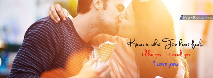 Happy Kiss Day Facebook Cover