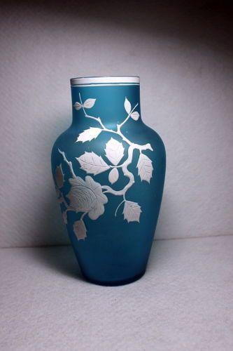 Antique British Cameo Art Glass Vase Thomas Webb Steven Williams | eBay