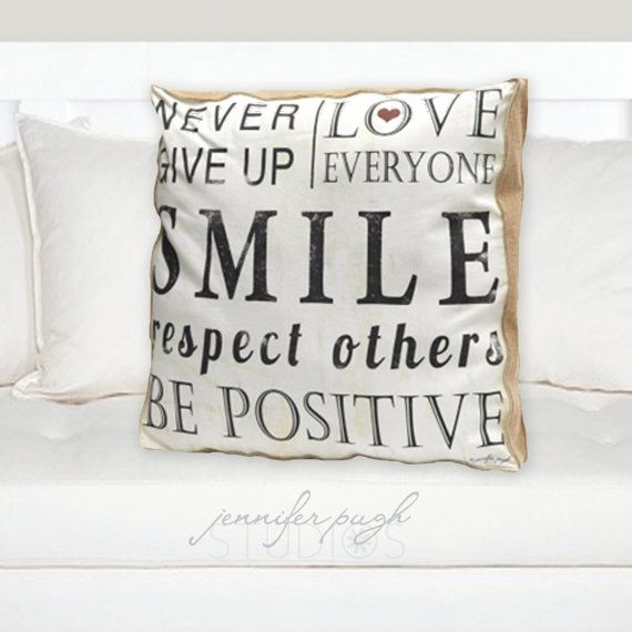 Decorative Pillow - Never Give Up 20