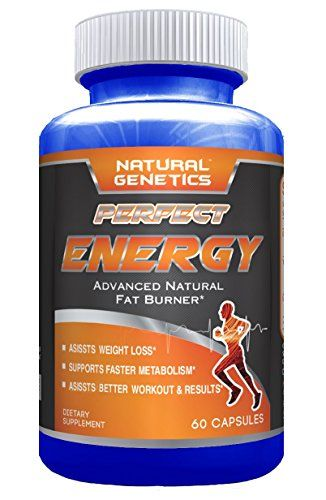 Best Thermogenic Fat Burner Diet Pill, PERFECT ENERGY. Advanced Natural Metabolism Boosting Oxy Formula for Weight Loss