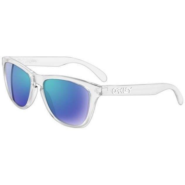 clear oakley frogskins 2ay1  Alessandra Ambrosio wearing Oakley Frogskins Sport Sunglasses