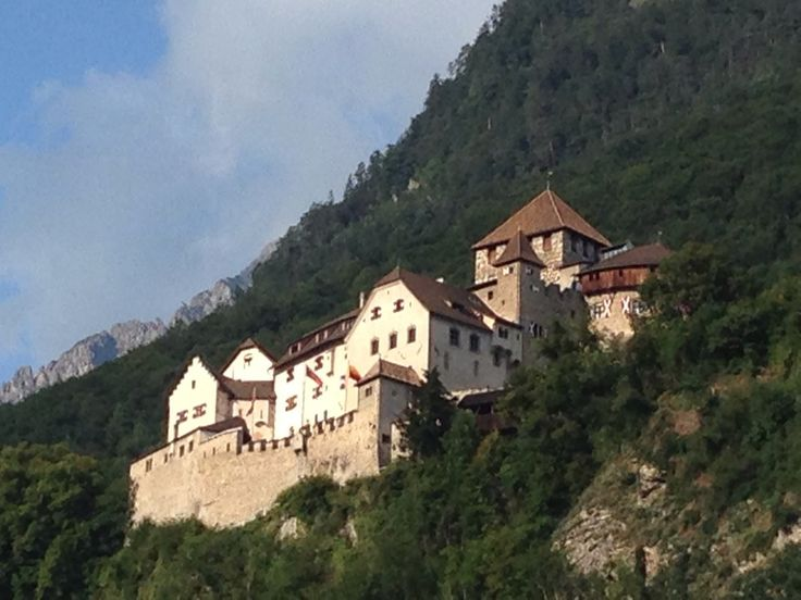 Vaduz ve městě Vaduz