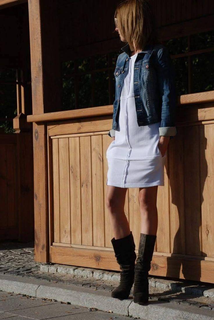 Sukienka ONE marki Sisters - luźno, wygodnie i stylowo - w kilku kolorach - dostępna u nas na stronie: www.shopsisters.eu #sukienka #dress #nowosc2016 #damen #woman #sukienka dresowa #dzianina #sisters #shopsisters #kleider