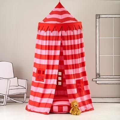 I would love to read stories to my Meyer and Joseph in this lovely tent