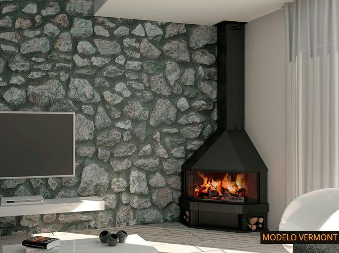 M s de 25 ideas incre bles sobre chimeneas metalicas en for Chimeneas metalicas precios
