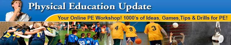 Like a physical education workshop online! The fastest way to learn the newest tricks of the trade in PE, coaching and fitness. Over 2100 searchable, easy-to-read, illustrated articles on 40 different PE & sports topics. Plus videos, discussion group, blog, and free newsletter.