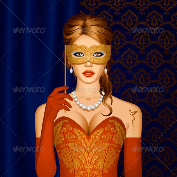Venetian Beauty In A Mask  #GraphicRiver         Venetian beauty in a mask. Vector illustration.     Created: 6March12 GraphicsFilesIncluded: JPGImage #VectorEPS Layered: Yes MinimumAdobeCSVersion: CS Tags: background #beauty #characters #decoration #dress #elegance #female #girl #glamour #gold #hair #hummingbird #illustration #jewelry #luxury #mask #masquerade #necklace #ornament #party #red #renaissance #revival #tattoo #valentine& #x27;sday #vector #venetian #vintage #women #young