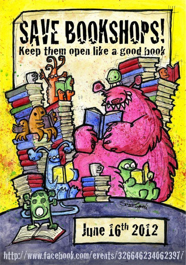 Save Bookshops: General Pin, Stores June, Save Bookshop, Real Stores, Real Books, Save Bookstores, Independence Bookstores, Books Stores, Bookstores Ideas