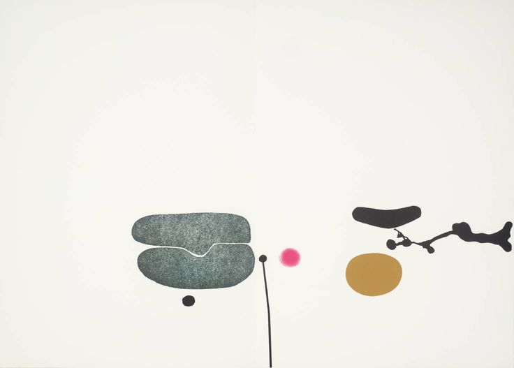 Victor Pasmore (1908‑1998), [no title], 1971, Screenprint on paper. » http://www.victorpasmore.com/