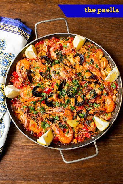 my blissfood: Boys can cook vol. 2 - Η παέγια του Αλέξανδρου