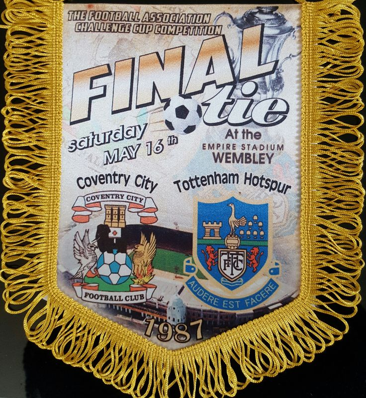 fa cup final 1987 spurs v Coventry city
