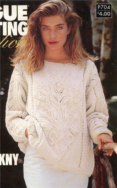 Op zoek naar de schema's van het tijdschrift Vogue breien 1992 .. Discussie over LiveInternet - Russische Dienst Online Diaries