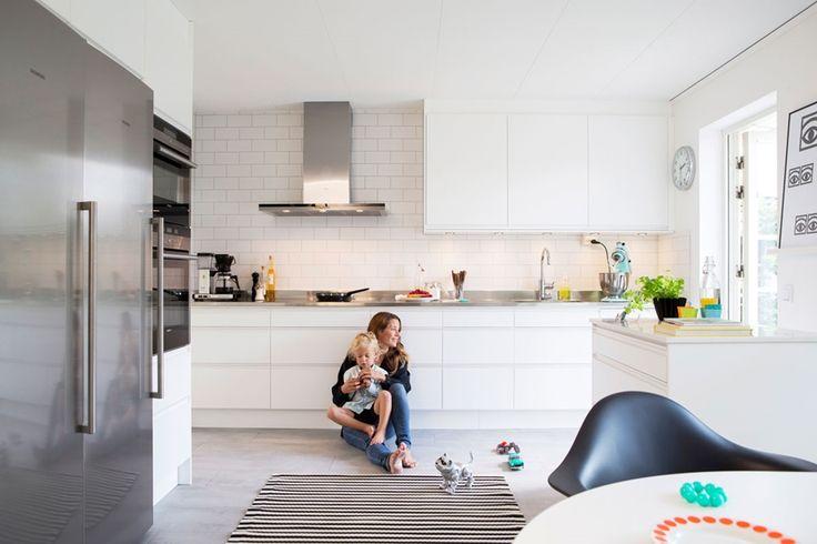 Kjøkkeninspirasjon -  Kjøkken uten håndtak - Stil