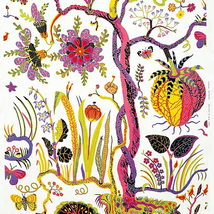 Josef Frank Psychedelic Botanicals.