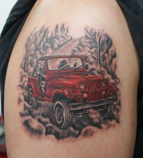 Jeep tattoos   Drawings or Jeep Tattoo's - Page 4 - JeepForum.com