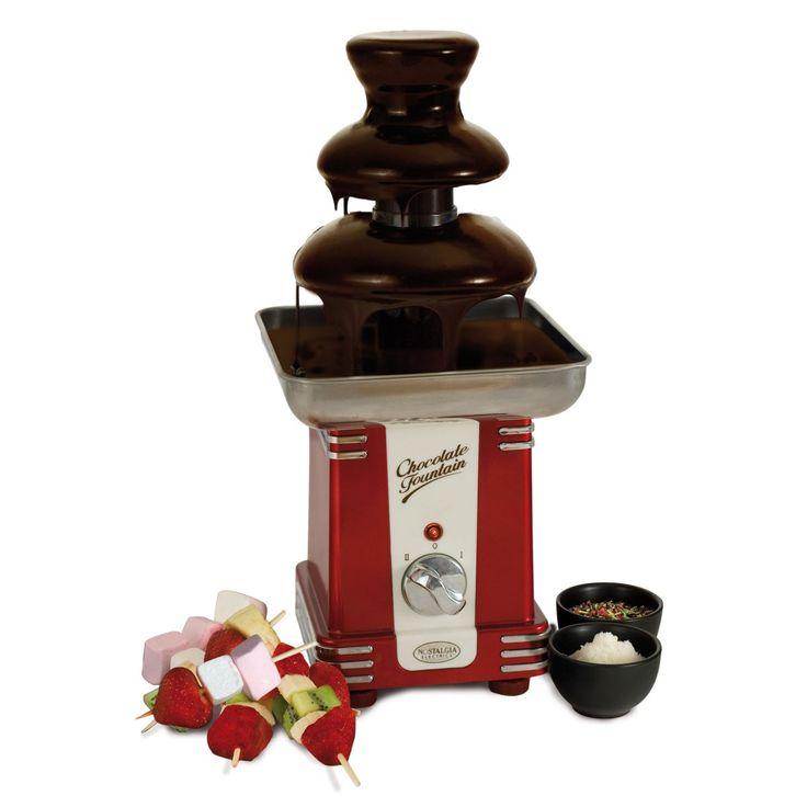Chocoladefontein, verleidelijk lekker en een top cadeau voor sinterklaas voor iedereen die van chocolade houdt!