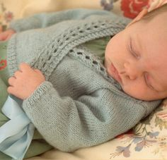 Knitting Pattern for Baby Wrap Over Cardigan - #ad Lace edged sweater to fit birth to 6 years tba