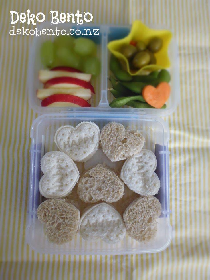 Small heart sandwich - dekobento.co.nz