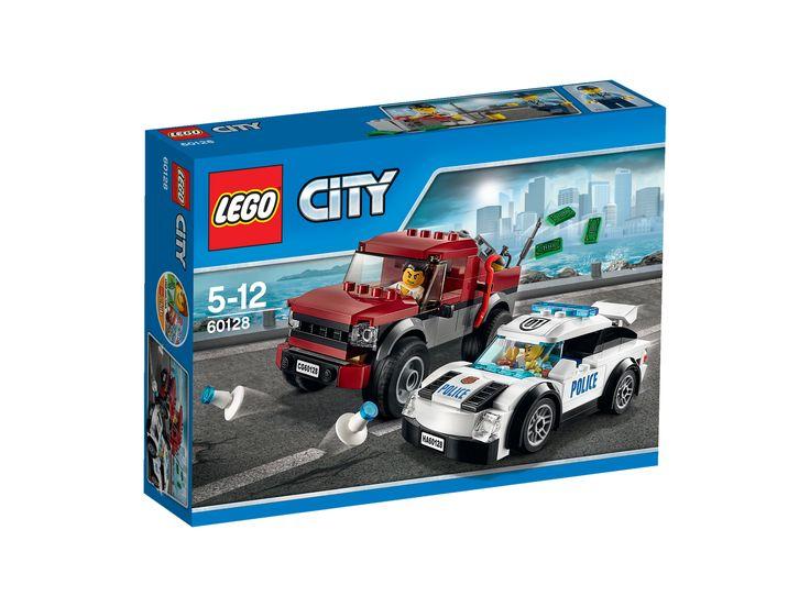 LEGO® City Police60128Polizei-Verfolgungsjagd