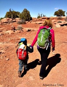 How to pack a day pack for kids... #hiking #backpack