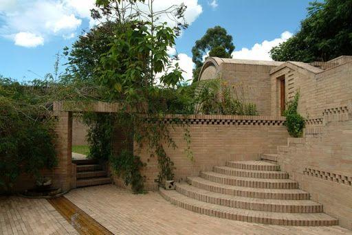 Fundación Rogelio Salmona   Proyecto   Casa en Río Frío, Cota, Cundinamarca - Colombia