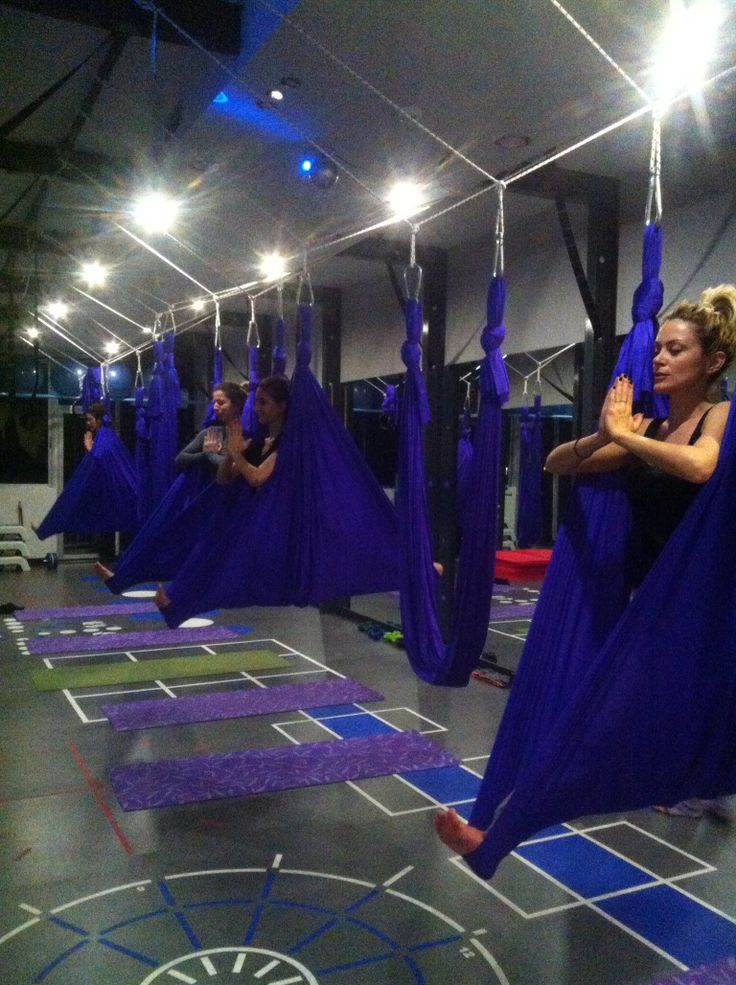 Aerial yoga @Gym Tonic Express