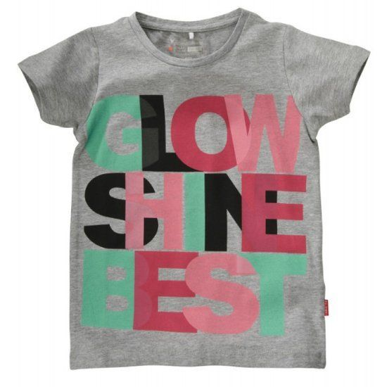 Name-it Name-it grijze meisjes t-shirt Esliva
