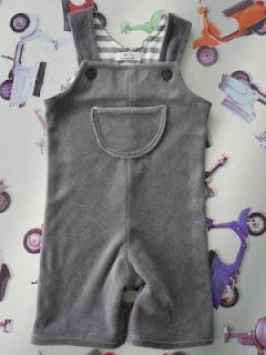 Lotte's frutsels: Salopet, jumpsuit diy. kruippakje tutorial pattern patroon onesie