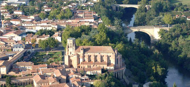 Cathédrale, Agout, pont Saint-Roch