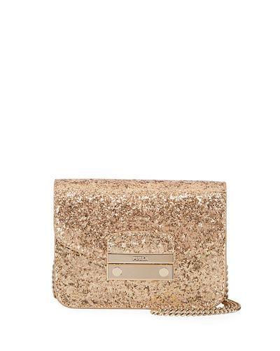Julia Mini Glitter Crossbody Bag