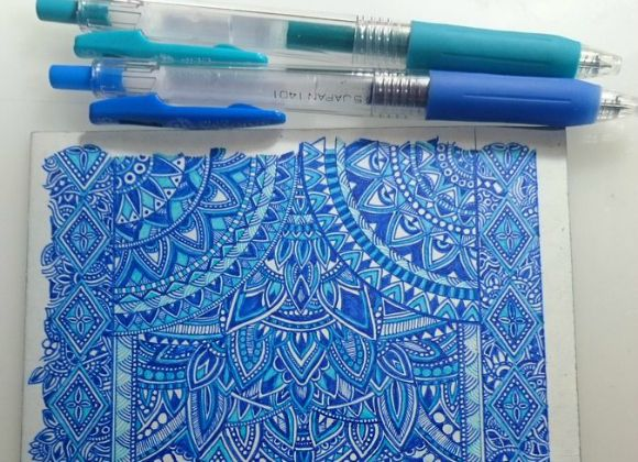 Japanese Twitter user's ridiculously detailed ballpoint pen art goes viral. Twitter user Urei Ibimiya may not have Warhol's fame, but recently his ballpoint pen-inked art has caught the eyes of thousands of Japanese netizens.