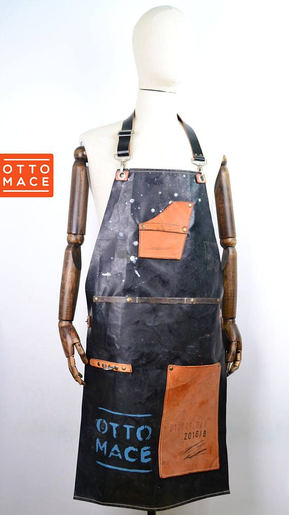 LEATHER RUBBER Apron