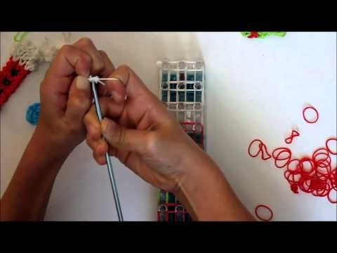 Rainbow Loom Christmas Stocking Ornament (And Other Christmas Loom Projects) - Frugal Fun For Boys