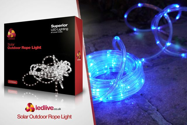 10m LED Garden Tube Lights