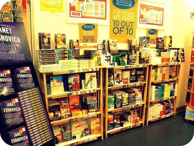 Top 10 in 10 genres display by Dymocks Adelaide, via Flickr: Book Displays, Books Display, Sell Books, 10 Books, Photo